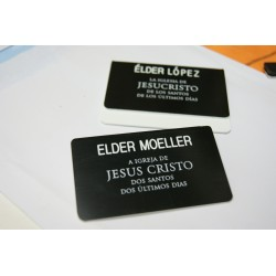 MISSIONARY NAMETAGS PERSONALISED