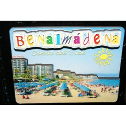 IMAN DE BENALMADENA CON RELIEVE LM8 PLAYA